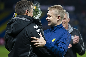 Johan Larsson (Br�ndby IF), Troels Bech, sportsdirekt�r (Br�ndby IF)