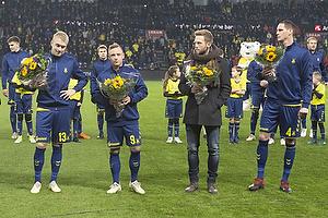 Johan Larsson (Br�ndby IF), Uffe Bech (Br�ndby IF), Bj�rn Kopplin (Br�ndby IF), Benedikt R�cker (Br�ndby IF)
