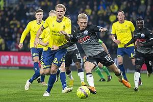 Paulus Arajuuri (Br�ndby IF), S�ren Henriksen (Vendsyssel FF)