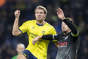 Paulus Arajuuri (Br�ndby IF), Alexander Juel Andersen (Vendsyssel FF)