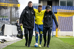 Hany Mukhtar (Br�ndby IF), Peter Schmidt, cheffysioterapeut (Br�ndby IF), Ryan Hansen, mass�r (Br�ndby IF)