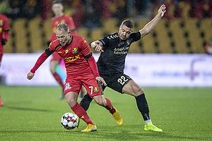 Mikkel Rygaard (FC Nordsj�lland), Josip Radosevic (Br�ndby IF)