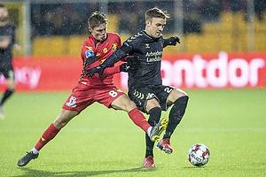 Lasse Vigen Christensen (Br�ndby IF), Magnus Kofod Andersen (FC Nordsj�lland)