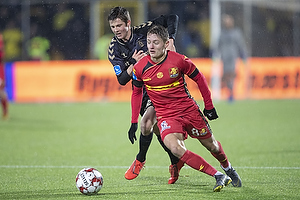 Morten Frendrup (Br�ndby IF), Magnus Kofod Andersen (FC Nordsj�lland)