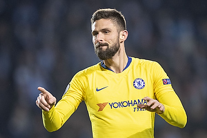 Olivier Giroud, m�lscore (Chelsea FC)