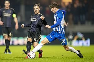 Lasse Vigen Christensen (Br�ndby IF), Mathias Kristensen (Esbjerg fB)