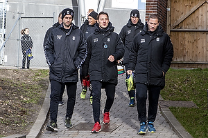 Christian Engell, mentalitetsudvikler (Br�ndby IF), Matthias Jaissle, assistenttr�ner (Br�ndby IF), Martin Retov, cheftr�ner (Br�ndby IF)