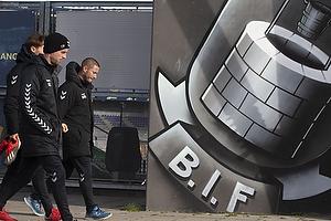 Christian Engell, mentalitetsudvikler (Br�ndby IF), Martin Retov, cheftr�ner (Br�ndby IF)