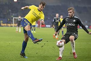 Kamil Wilczek (Br�ndby IF), Bj�rn Kopplin (Randers FC)