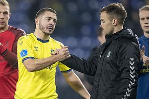 Josip Radosevic (Br�ndby IF), Lasse Vigen Christensen (Br�ndby IF)