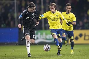 Simon Hedlund (Br�ndby IF), Erik Marxen (Randers FC)
