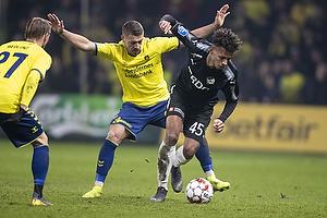 Josip Radosevic (Br�ndby IF), Marvin Egho (Randers FC)