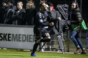 Kevin Mensah, m�lscorer (Br�ndby IF)