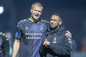 Paulus Arajuuri (Br�ndby IF), Kevin Mensah (Br�ndby IF)