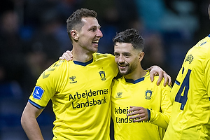 Kamil Wilczek, m�lscorer (Br�ndby IF), Besar Halimi (Br�ndby IF)