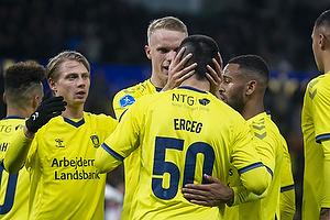 Ante Erceg, m�lscorer (Br�ndby IF), Hj�rtur Hermannsson (Br�ndby IF)