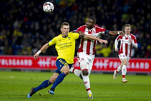 Kamil Wilczek (Br�ndby IF), Jores Okore, anf�rer (Aab)