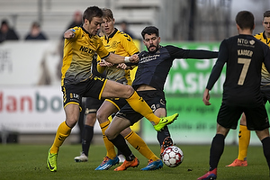 Anthony Jung (Br�ndby IF), Uidentificeret person (AC Horsens)