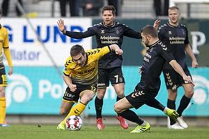 Hallur Hansson (AC Horsens), Josip Radosevic (Br�ndby IF)
