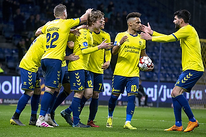 Simon Tibbling (Br�ndby IF), Hany Mukhtar (Br�ndby IF), Anthony Jung (Br�ndby IF)