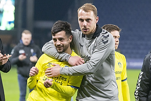 Besar Halimi (Br�ndby IF), Mikael Uhre (Br�ndby IF)