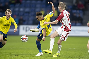Hany Mukhtar (Br�ndby IF), Magnus Christensen (Aab)
