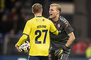 Simon Hedlund (Br�ndby IF), Jacob Rinne (Aab)