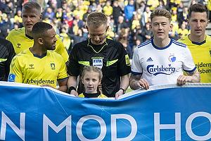 J�rgen Daugbjerg Burchardt, dommer, Kevin Mensah (Br�ndby IF)