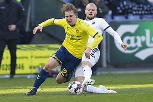 Simon Tibbling (Br�ndby IF), Nicolai Boilesen (FC K�benhavn)