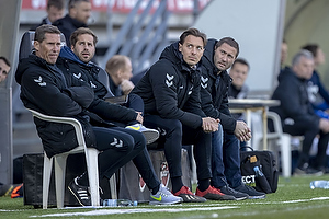 Martin Retov, cheftr�ner (Br�ndby IF), Matthias Jaissle, assistenttr�ner (Br�ndby IF)