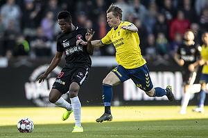 Frank Onyeka (FC Midtjylland), Simon Hedlund (Br�ndby IF)