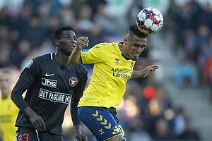 Hany Mukhtar (Br�ndby IF), Paul Onuachu (FC Midtjylland)