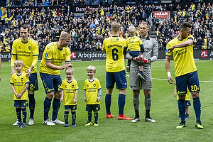 Jens Martin Gammelby (Br�ndby IF), Paulus Arajuuri (Br�ndby IF), Hj�rtur Hermannsson (Br�ndby IF), Marvin Schw�be (Br�ndby IF), Kamil Wilczek (Br�ndby IF)