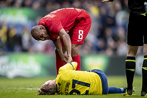 Rodoalph William Austin (Esbjerg fB), Simon Hedlund (Br�ndby IF)