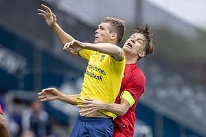 Nikolai Laursen (Br�ndby IF), Markus Halsti, anf�rer (Esbjerg fB)
