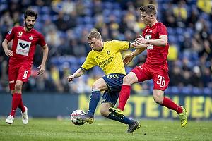 Simon Tibbling (Br�ndby IF), Jacob Lungi S�rensen (Esbjerg fB)