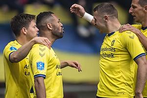 Kevin Mensah, m�lscorer (Br�ndby IF), Josip Radosevic (Br�ndby IF)