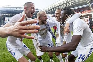 Denis Vavro (FC K�benhavn), Nicolai Boilesen (FC K�benhavn), Pierre Bengtsson (FC K�benhavn), Dame N Doye (FC K�benhavn)