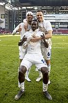 Carlos Zeca (FC K�benhavn), William Kvist (FC K�benhavn), Dame N Doye (FC K�benhavn)
