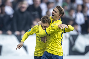 Simon Tibbling, m�lscorer (Br�ndby IF), Simon Hedlund (Br�ndby IF)
