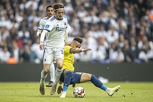 Rasmus Falk (FC K�benhavn) ,Hany Mukhtar (Br�ndby IF)