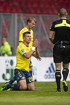 Kamil Wilczek (Br�ndby IF), Mads-Kristoffer Kristoffersen, dommer