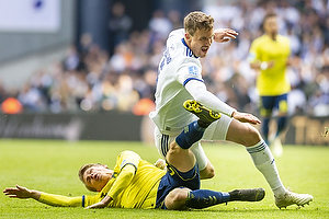 Simon Hedlund (Br�ndby IF), Andreas Bjelland (FC K�benhavn)