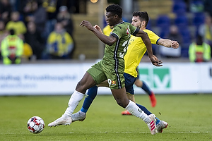 Mohammed Kudus (FC Nordsj�lland), Anthony Jung (Br�ndby IF)