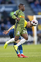 Jonathan Amon (FC Nordsj�lland), Josip Radosevic (Br�ndby IF)