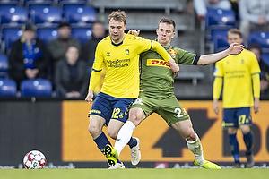 Simon Tibbling (Br�ndby IF), Karlo Bartolec (FC Nordsj�lland)