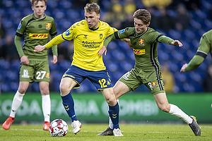 Simon Tibbling (Br�ndby IF), Magnus Kofod Andersen (FC Nordsj�lland)