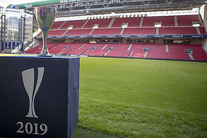 Pressem�de: Pokalfinalen 2019