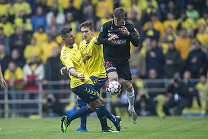 Mads D�hr Tychosen (FC Midtjylland), Kamil Wilczek (Br�ndby IF), Mikael Uhre (Br�ndby IF)