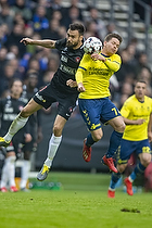 Dominik Kaiser (Br�ndby IF), Uidentificeret person (FC Midtjylland)